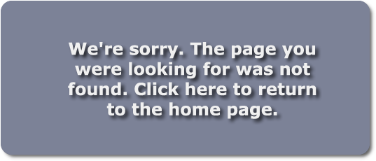 The page you requested cannot be found - click to return to home page