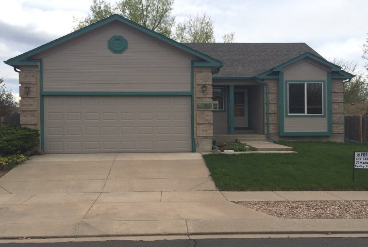 Colorado Springs rental house